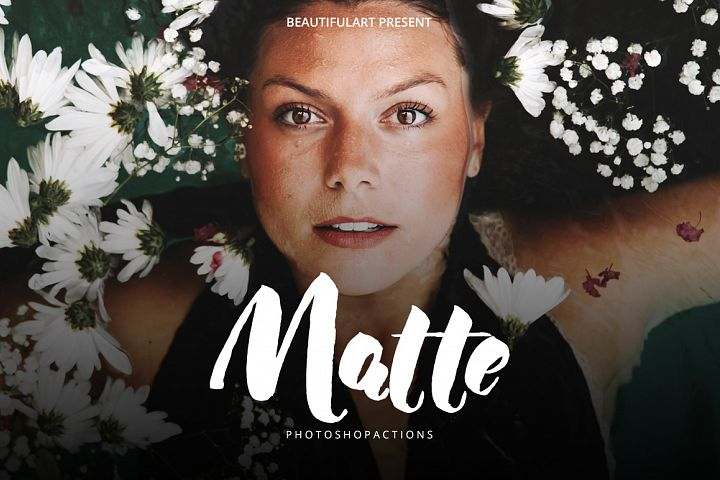 PRO Matte Photoshop Action