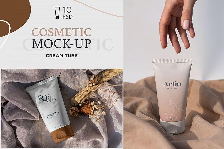 Cosmetic Tube Mock-Ups 10 PSD