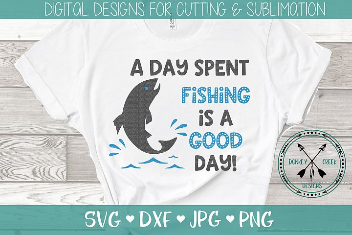 Fathers Day Fishing SVG