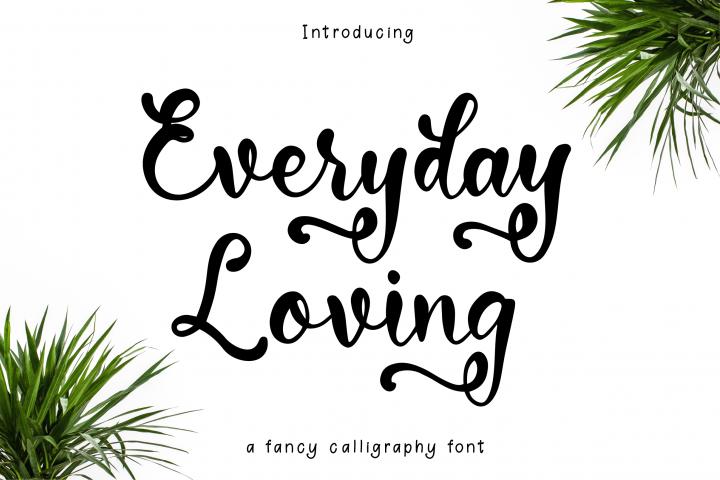 Everyday Loving Font