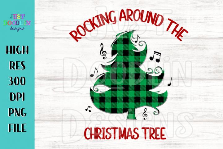 Rocking Around The Christmas Tree PNG file