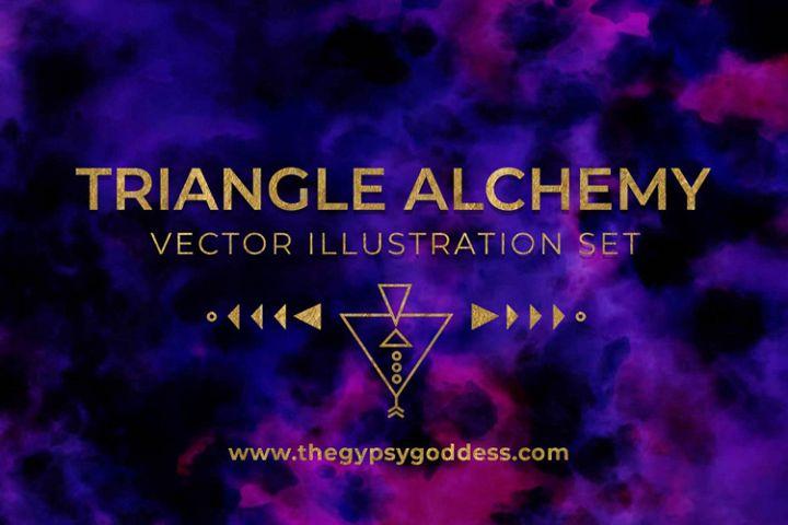 Triangle Alchemy - Vector Set