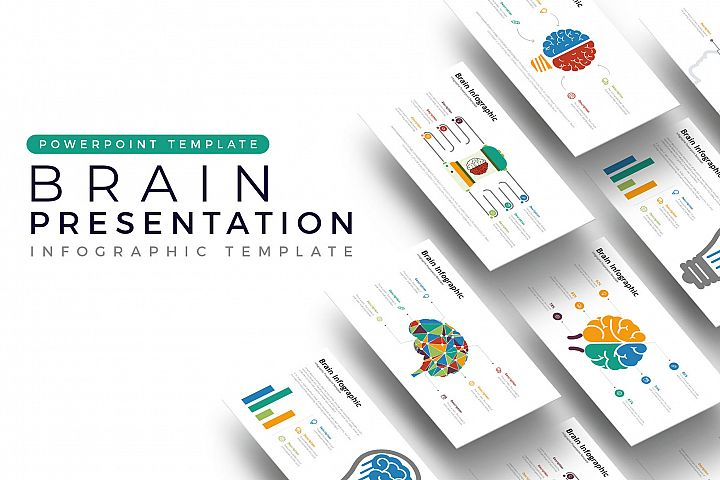 Brain Presentation - Infographic Template