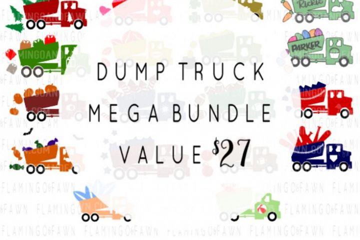 Dump truck mega bundle