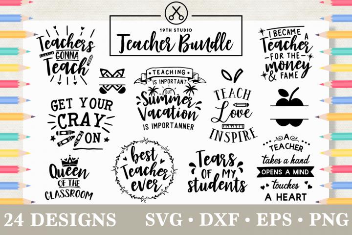 Teacher SVG Bundle - MB5