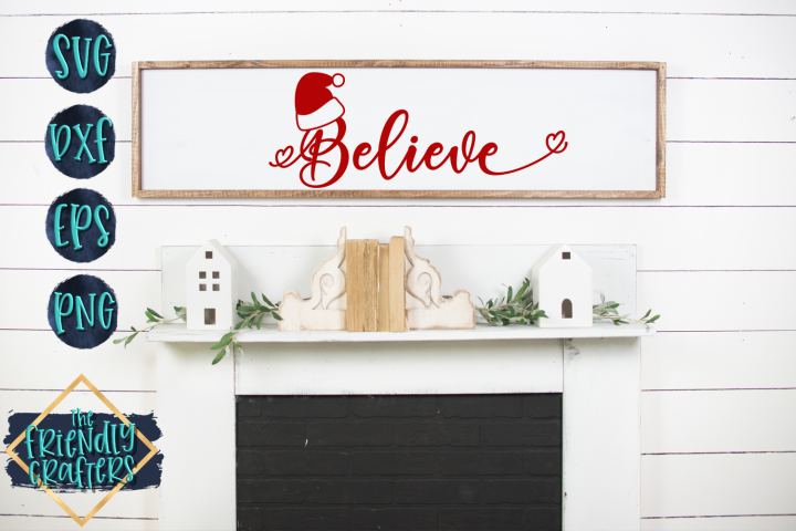 Believe - A Christmas Cut File