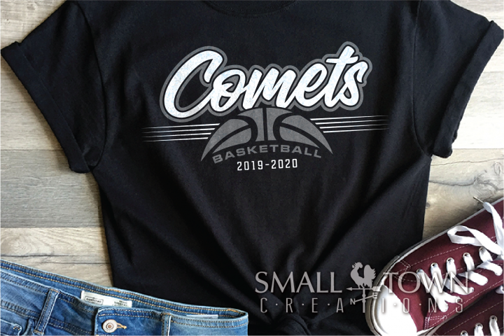 Comet, Comet Basketball, Sport, Design, PRINT, CUT, DESIGN