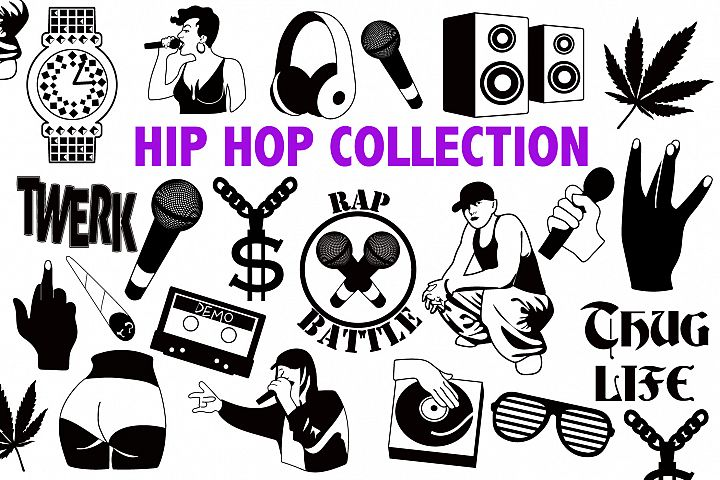 HIP HOP SVG COLLECTION