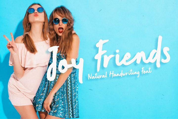 Joy Friends - Bold Marker Font