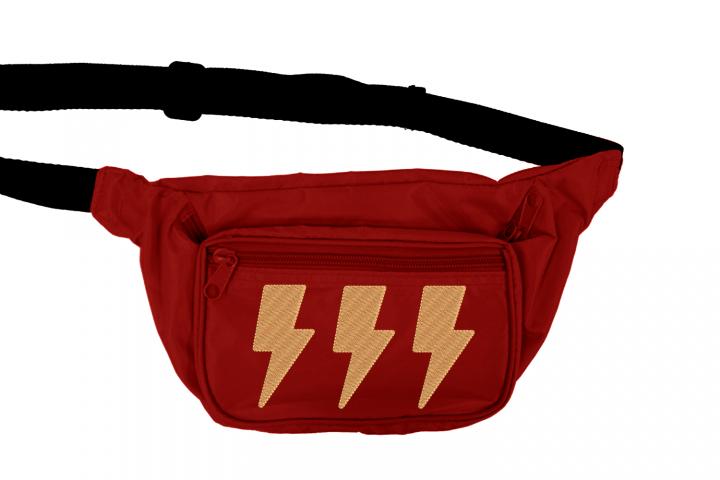 Lighting Bolt Mini Embroidery