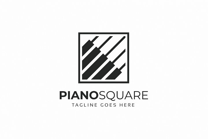 Piano Music Logo
