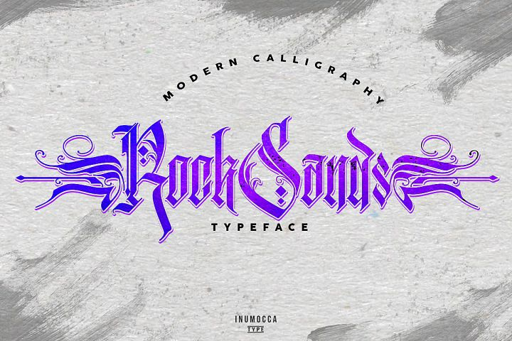 RockSands Typeface