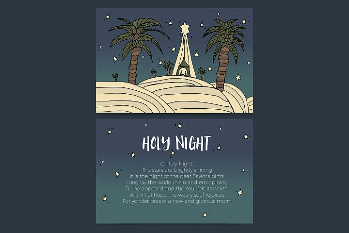 Holy Night - baby Jesus