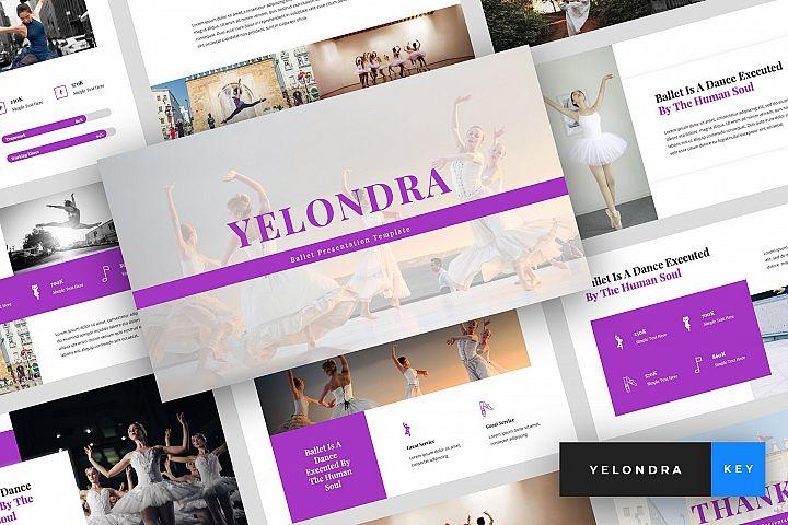 Yelondra - Ballet Keynote Template