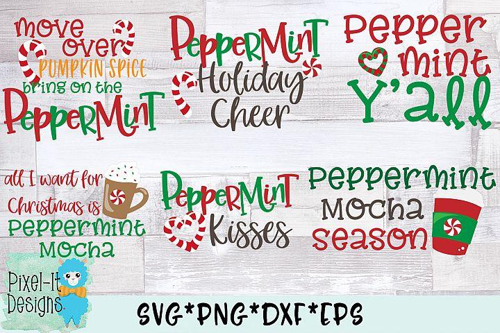 Peppermint Bundle Of 6 SVG Cut Files