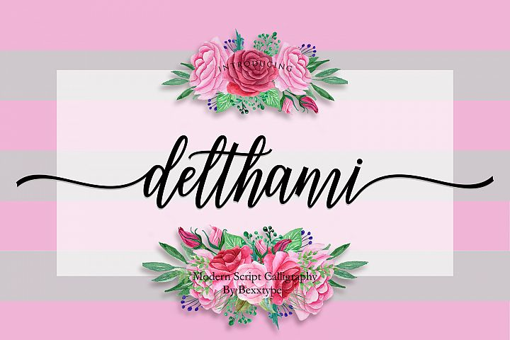 NEW Delthami Script || Elegant