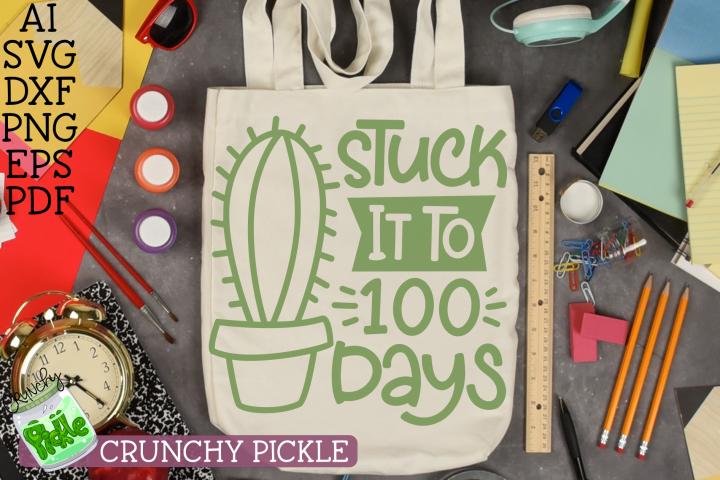 Stuck it to 100 Days Cactus