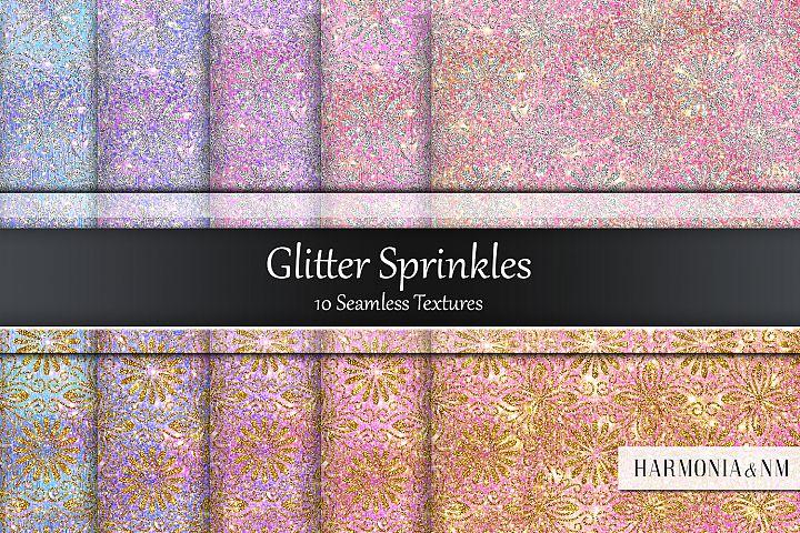 Glitter Sprinkles 10 Seamless Textures