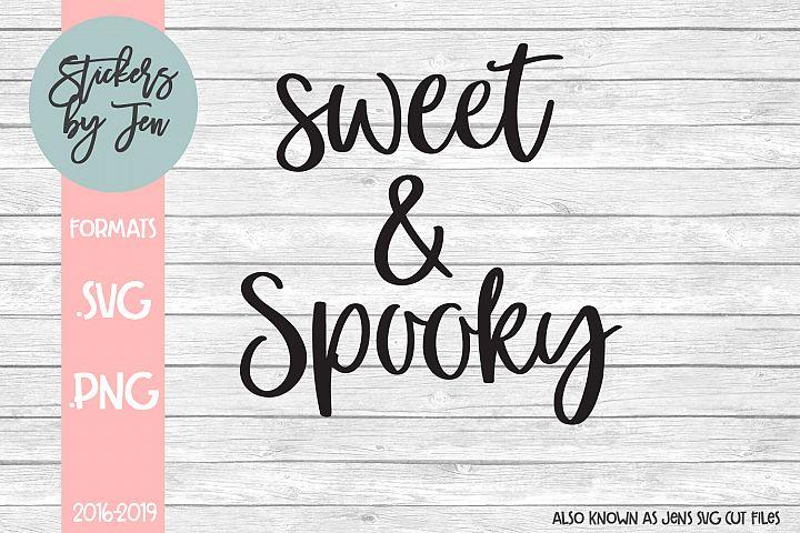 Sweet & Spooky SVG Cut File