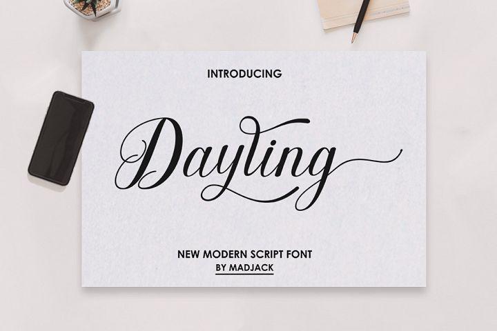 Dayling Script