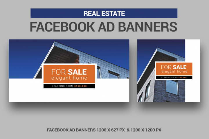 Real Estate Facebook Ad Banners