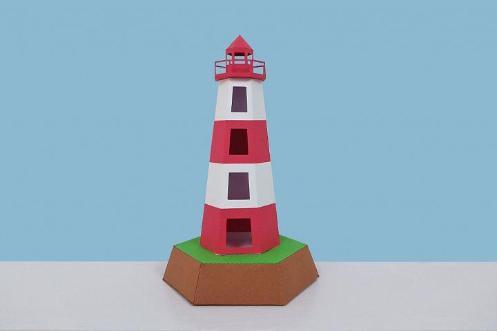 DIY Lightbox - 3d papercraft