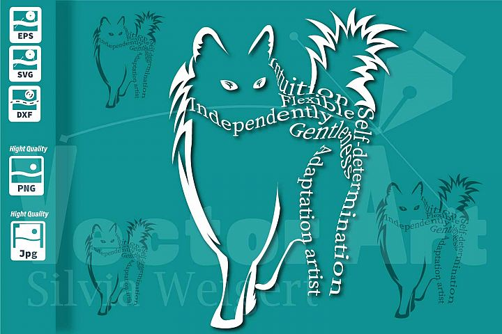 Power Cat SVG - Cut File for Crafters