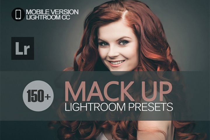 155 Mack up Lightroom Mobile bundle Presets