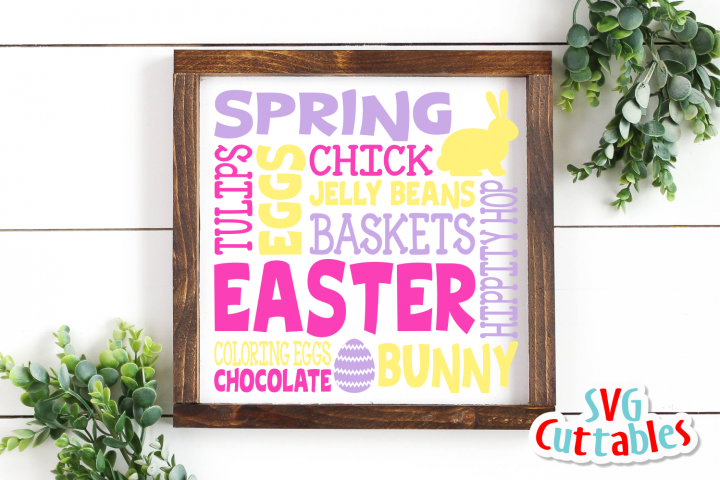 Easter Subway Art | svg Cut File