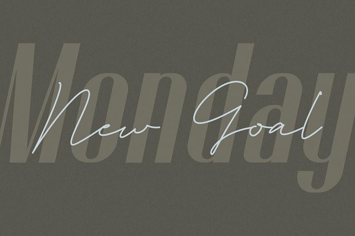 Godhand Athens   Elegant Font Duo example image 4