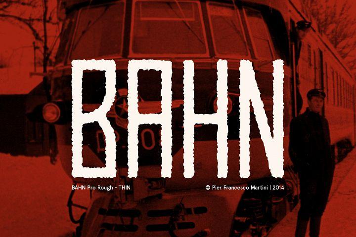 BAHN Pro Rough - THIN