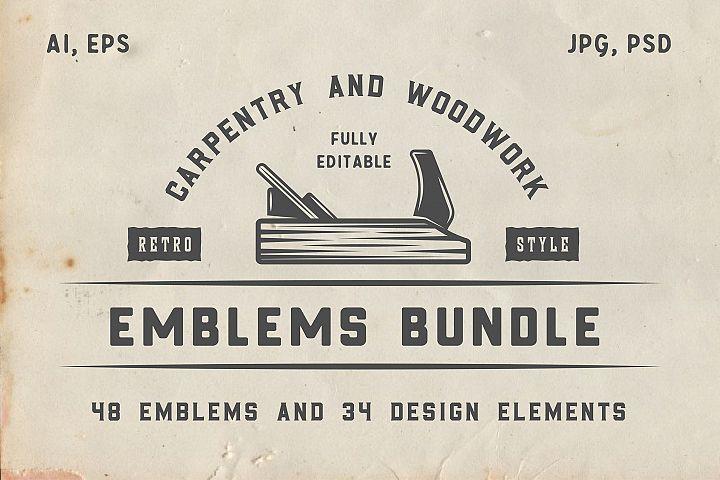 Vintage Carpentry Emblems part 1