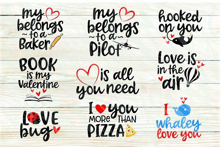 30 Printable Valentines