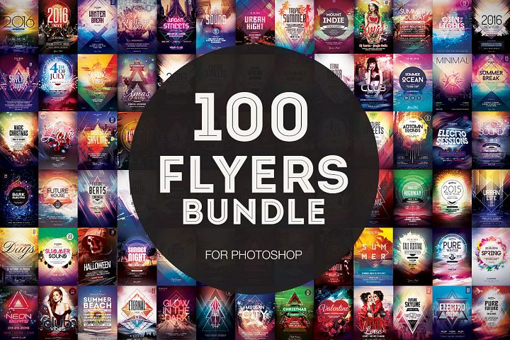 100+ Flyer Templates - Mega Bundle