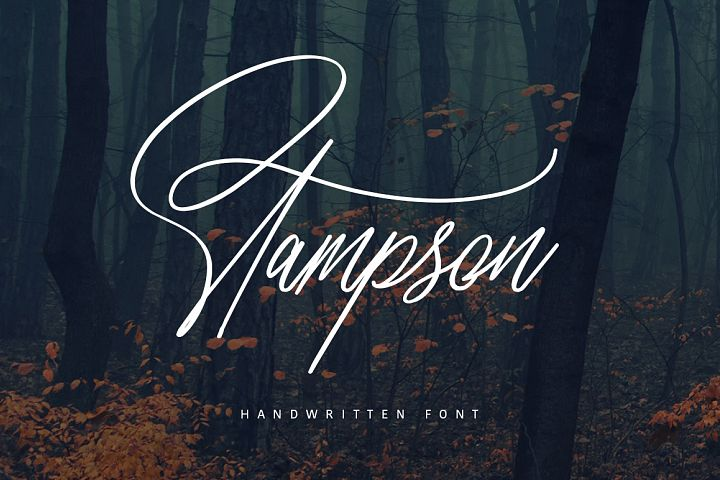 Stampson Signature Font