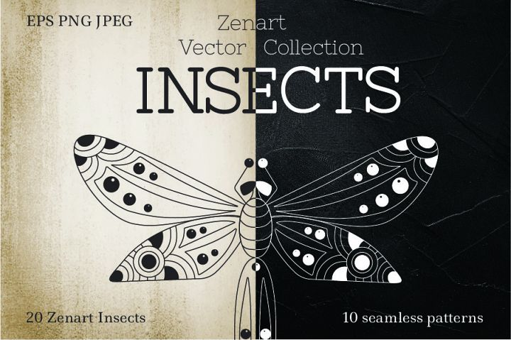 Zenart Vector Insects Collection