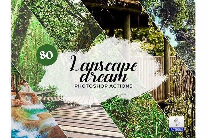 80 Landscape Dream Photoshop Actions