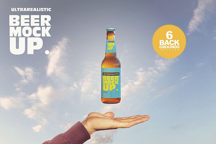 Magic Beer Mockup