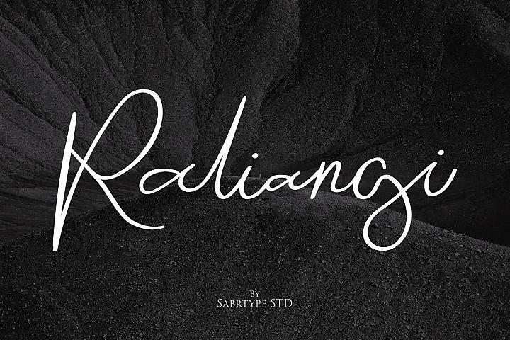 Raliangi Font
