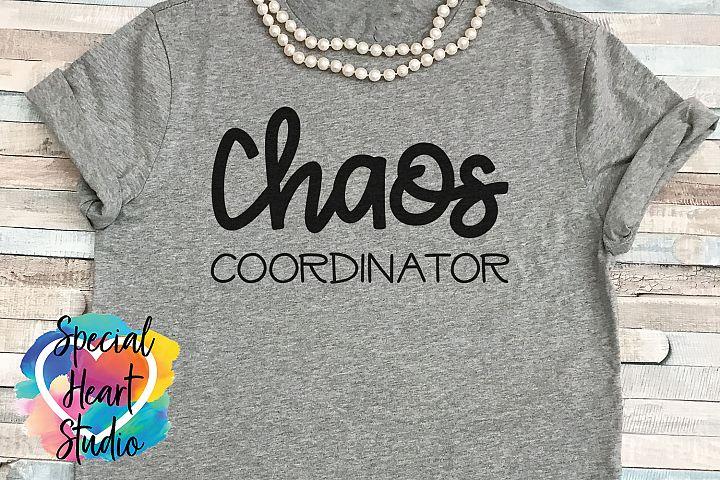 Chaos Coordinator- SVG