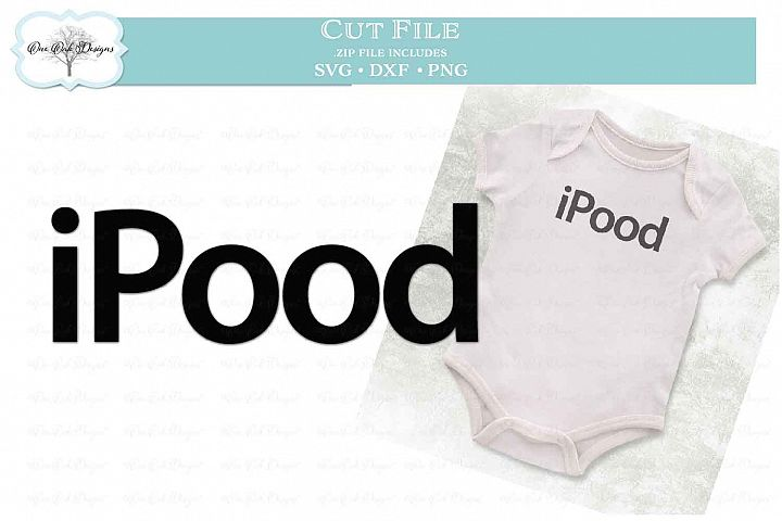 iPood - Funny Pun for Baby
