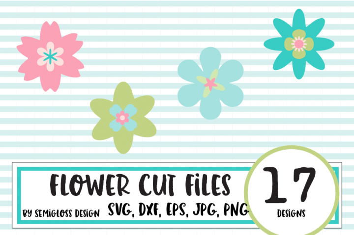 Flower Cut File Bundle