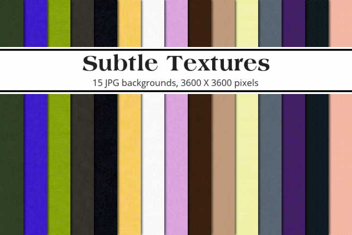 Subtle Textures Background Pack