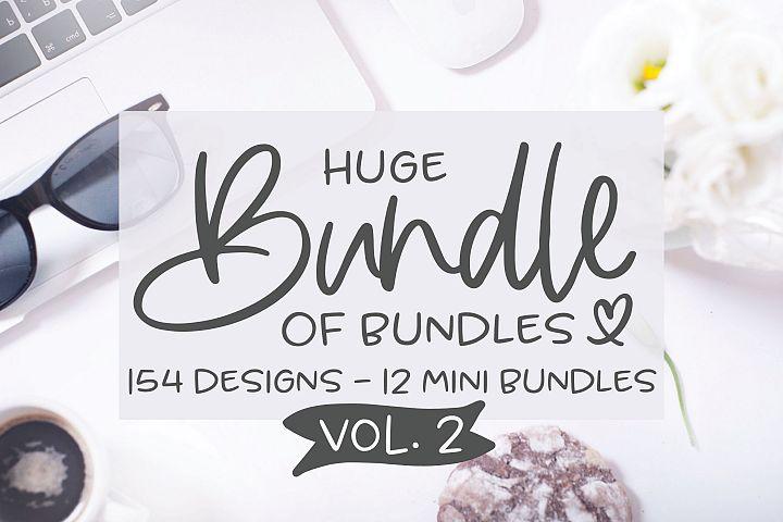 Huge Bundle Of Bundles VOL. 2 - 154 Designs