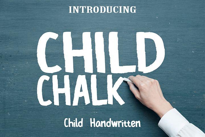 Child Chalk