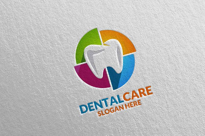 Dental Logo, Dentist Stomatology Logo Design 38