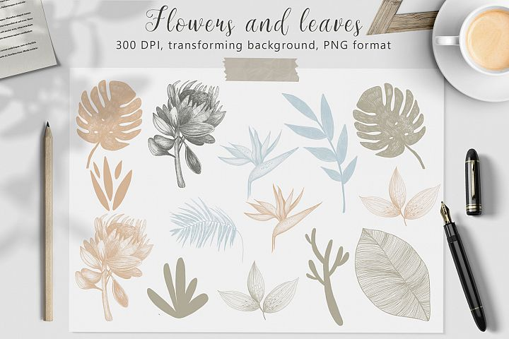Hand drawn textures collection