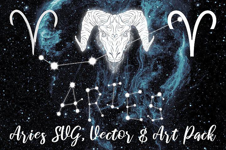 Aries Zodiac, Constellation, Horoscope Pack