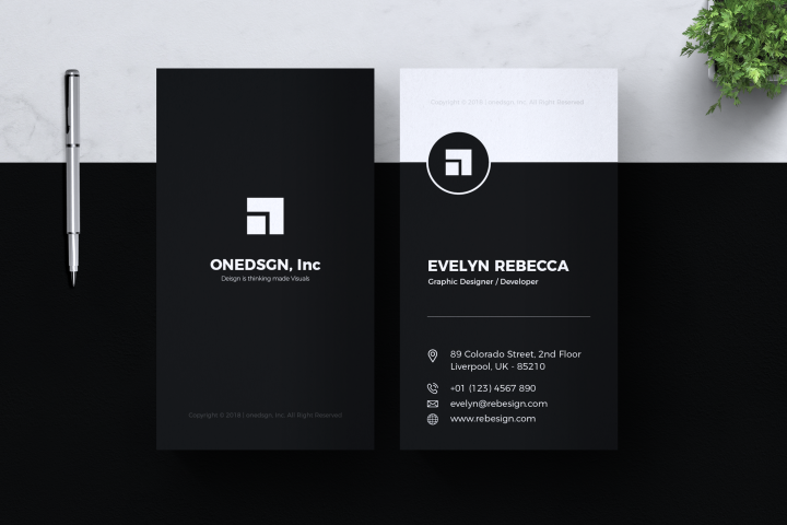 Minimalist Business Card Vol. 02