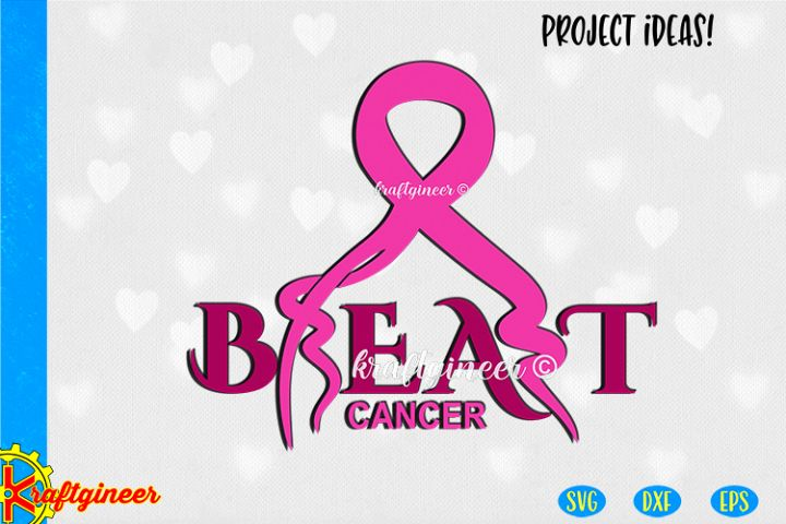 Beat Breast Cancer SVG | Awareness SVG
